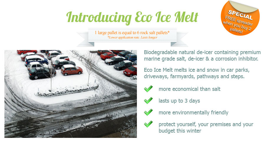 Introducing Eco Ice Melt